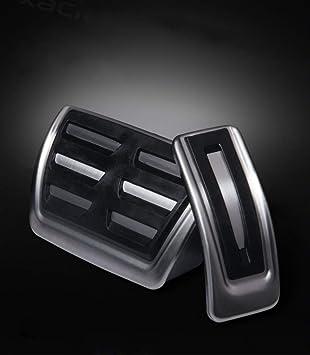 Für A4 A5 A6 A7 Q5 Auto Bremse Gaspedal Pedalabdeckung Pedalkappe Pedalset Aluminiumlegierung Ppe Gleitschutz At Zwei Auto