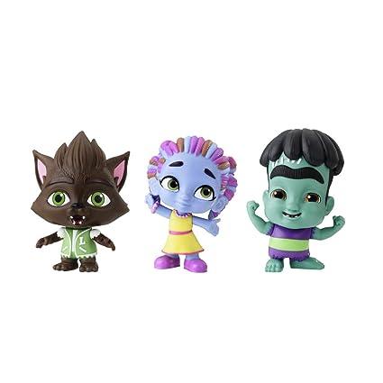 Netflix Super Monsters Set Of 3 Collectible 4 Inch Figures Monster Trio Amazon Exclusive