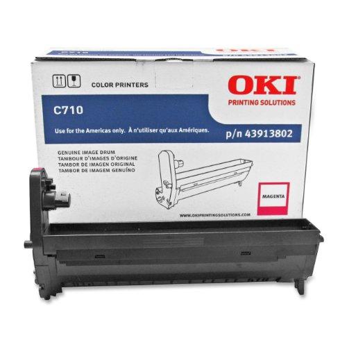 Okidata 43913802 Magenta Image Drum for C710 Series