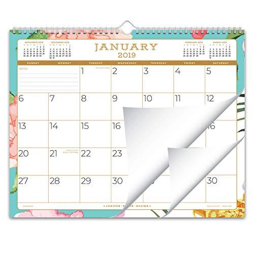 Juniper Paper Design October 2018 - December 2019 Monthly Wall Calendar, 15