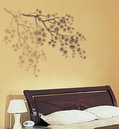 Amazon.com: Stencil Japanese Maple Branch - Reusable Stencils for ...