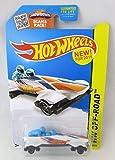 Hot Wheels, 2015 HW Off-Road, Ice Shredder [White] Bobsled Die-Cast Vehicle #109/250