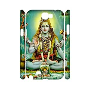Shiva Wholesale DIY 3D Cell Phone Case Cover for Samsung Galaxy Note 2 N7100, Shiva Galaxy Note 2 N7100 3D Phone Case