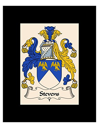 - Carpe Diem Designs Stevens Coat of Arms/Stevens Family Crest 8X10 Photo Plaque, Personalized Gift, Wedding Gift