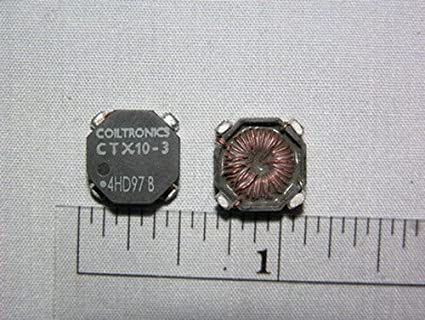 10 Coiltronics CTX10-3 OCTA-PAC 9 6uH SMD Inductors: Amazon com