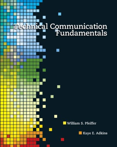 Technical Communication Fundamentals (Communication Fundamentals)
