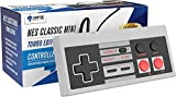 Ortz 10 Feet NES Classic Edition Mini Controller [TURBO EDITION] Rapid Buttons for Nintendo Gaming System