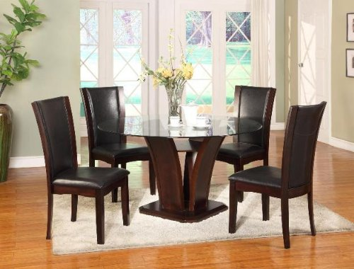Crown Mark Camelia Side Chair Espresso Review