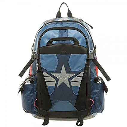 fe546f85ff72 Amazon.com  Captain America Suit Up Laptop Backpack  Computers ...