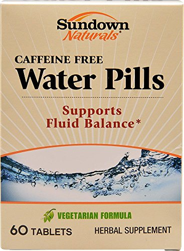 Sundown Naturals Water Pills 60 Tablets