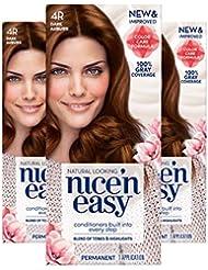 Clairol Nice 'n Easy Permanent Hair Color, 4R Dark Auburn...