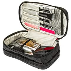 Beautiful, Elegant and....Yours! The Beautiful Ellis James Designs Travel Jewellery & Makeup Organiser Bag Boasts Plentiful Capacity and Elegantly Designed Internal Pouches, Zipped Pockets, Ring, Necklace, Bracelet, Watch, Earring, Makeup...