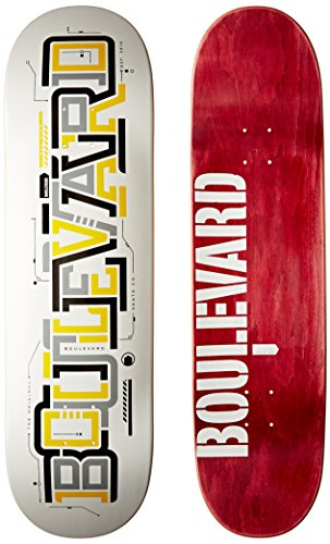 Blvd Skateboards Transit Team Deck, 8.75-Inch