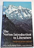 The Norton Introduction to Literature, Bain, Carl E. and Beaty, Jerome, 0393952444