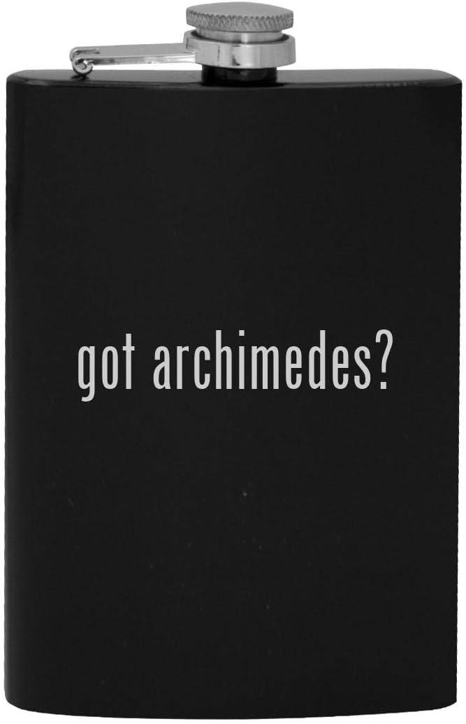 got archimedes? - 8oz Hip Drinking Alcohol Flask