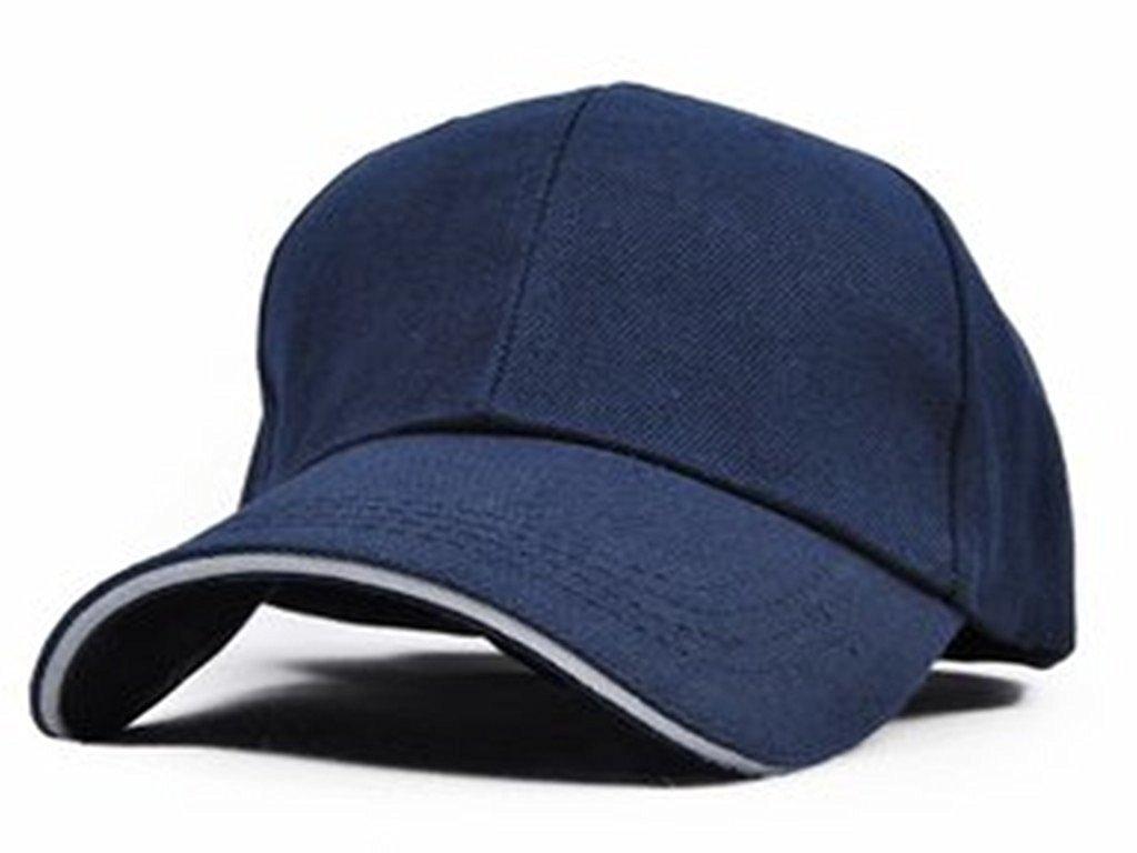 Navy bluee Stybelle Unisex Baseball Cap Pure color Cap Adjustable Hat Sport Hat