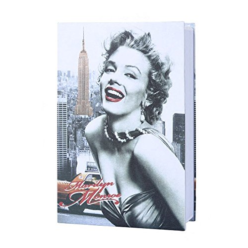 Diversion Book Safe, Dictionary Secret Safe Box with Combination Lock, Diversion Book Hidden Safe (Marilyn Monroe Style-Code, M) by Bseash