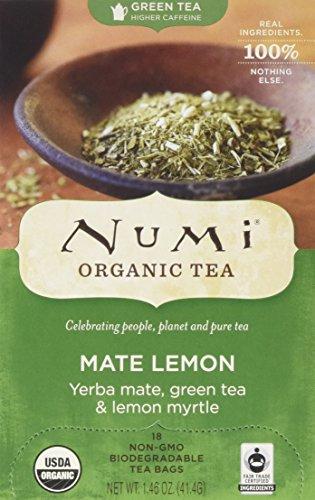 Numi Organic Lemon Yerba Tea
