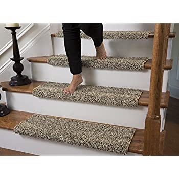 Amazon Com Caprice Bullnose Carpet Stair Tread With