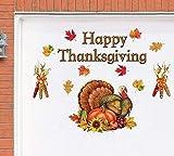 new years garage magnets - Tuweep Happy Thanksgiving Decoration Harvest Turkey Garage Door Magnets Autumn Fall Yard Decor Accent
