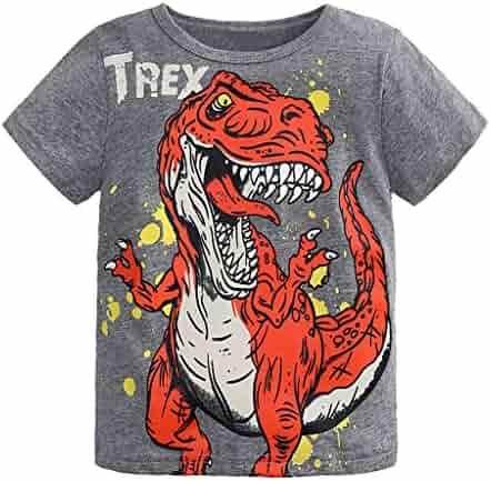 4a3eddf902c Toddler Kids Baby Boys Girls Clothes Cartoon Short Sleeve T-Shirt Tops