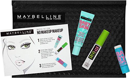 Maybelline New York NY Minute Makeup Kit, No Makeup Makeup Kit, Primer Gloss Mascara Makeup Set by Maybelline New York (Image #4)