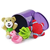 Cheap ThinkPet Squeaky Plush Toy/Treat Dispensing Toy/Rubber Chew Toy/Food Scoop & Canister Set, Value Pack for Dogs