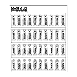 Golden 12739 Heavy Body Acrylic Color Paint Conversion Kit Display Assortments