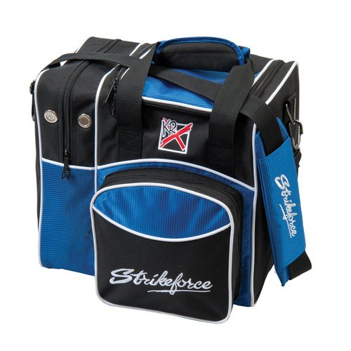 KR Strikeforce Flexx Sac de bowling simple Bleu roi 8600-03