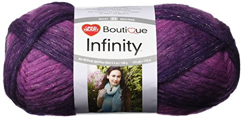 Red Heart Yarn, Infinity (Enchanted Scarf)