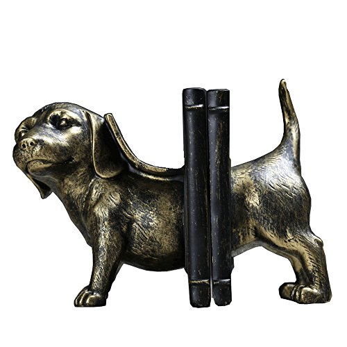 FLYSXP Northern European and American Style Retro Dachshund Dog Book by Creative Home Jewelry Study Office Decoration Decoration Gift 23x15x12cm Home Decorations ()