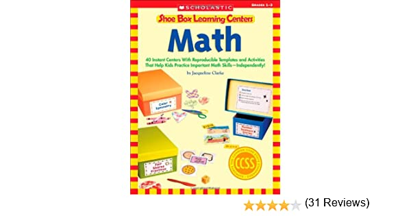 Amazon.com: Shoe Box Learning Centers: Math: 40 Instant Centers ...