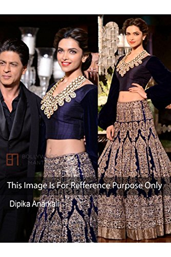 Designer-Royal-Blue-NET-Bollywood-Replica-Lehenga-Choli-T2172