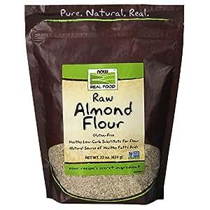 Amazon.com: NOW Foods, Almond Flour with Essential Fatty