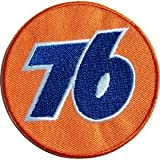 iron on company logo - NASCAR Sponsor UNION 76 Gas & Oil Company Patch Patch Sew Iron on Logo Embroidered Badge Sign Emblem Costume BY Dreamhigh_skyland