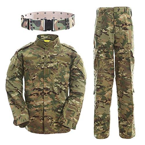 amp; Airsoft Giacche Giacca Tactical Qmfive Combattimento Suit Per Shooting Caccia Pantaloni Bdu Paintball Tattici Uniform Mc Uomo x1qz5pznwO