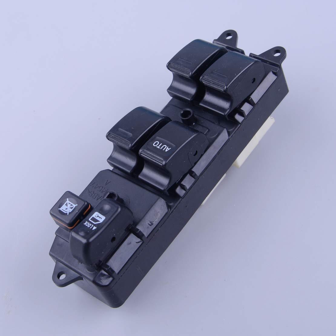 LETAOSK Commutateur de vitre de porti/ère Avant Gauche /à Commande /électrique pour Toyota RAV4 1998-2000 84820-4206060