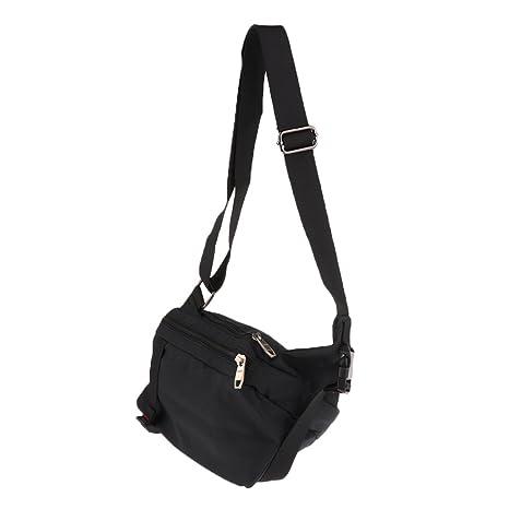 MagiDeal Fashion Men Women Small Crossbody Shoulder Messenger Chest Pack  Sling Bag Sport Casual Daily School 015220ac26e3e