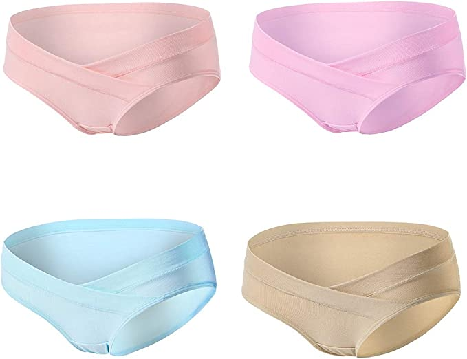 Pack 3 Ladies 100/% cotton Bikini Briefs Floral or Plain design 3 sizes M L XL