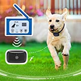 Wireless Dog Fence Electric Pet Containment SystemRechargeable Waterproof WirelessCollar...