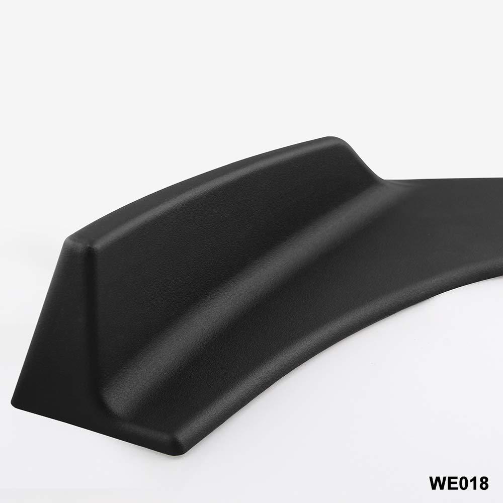 ETbotu 1/Paio Universale Fit Front Bumper Lip Splitters Winglets Canards Bumper Guardie per Veicolo Auto