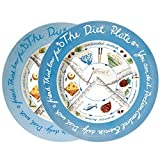 The Diet Plate for weight loss through portion control. Male and Female plates. Fine Earthenware and clinically proven to help control T2D. by The Diet Plate