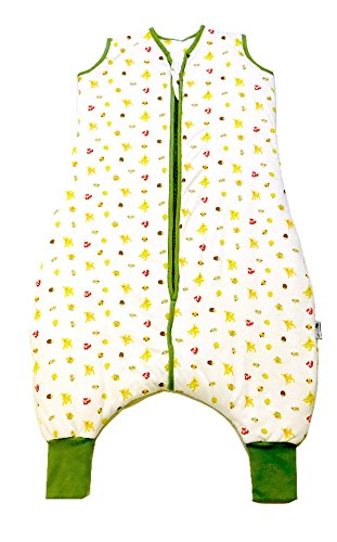 Slumbersafe Muslin Summer Sleeping Bag With Feet 0.5 Tog Forest Friends 24-36 months