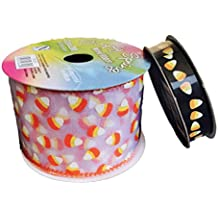Halloween Candy Corn Bundle of Two Ribbons