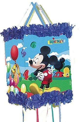 Verbetena 014000285 Mickey Mouse - Piñata Viñeta para cumpleaños y celebraciones, Clubhouse balones Disney^Mickey Mouse