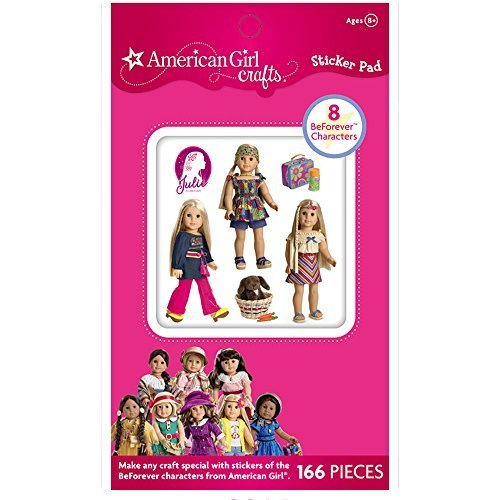American Girl Crafts Historical Dolls Sticker - Kay Scrapbooking