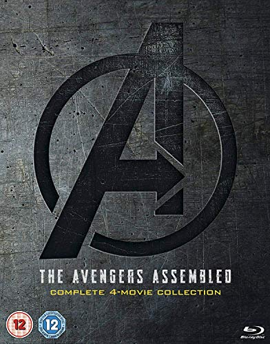 The Avengers Assembled: Complete 4-Movie Collection