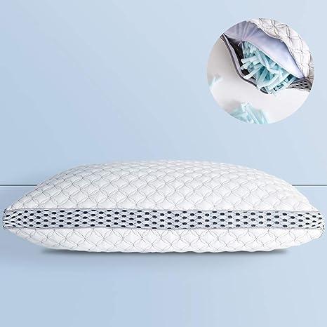 White Polyester Multi Purpose 4 in 1 Memory Foam Pillow Sleeping Cushion
