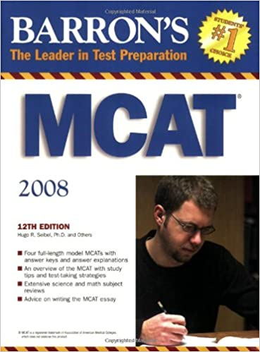 Download Barron's MCAT: Medical College Admission Test PDF