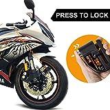 LIHAO Motorcycle Disc Lock, Anti-Theft Waterproof